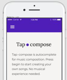 Showcase image for Tapcompose